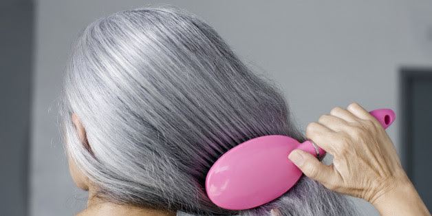 Image result for get rid of hat gray hair