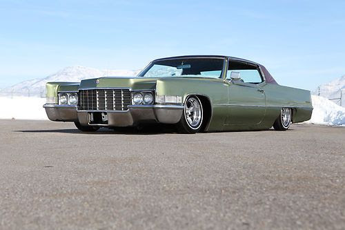Buy Used 1969 Cadillac Coupe Deville Air Bagged Lowrider Custom Paint Kustom Rat Rod In Roy Utah United States