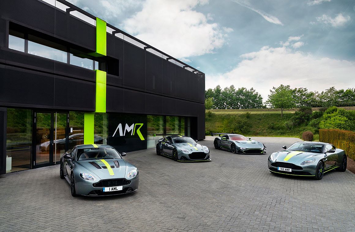 Amr Performance Centre Opens At The Nurburgring
