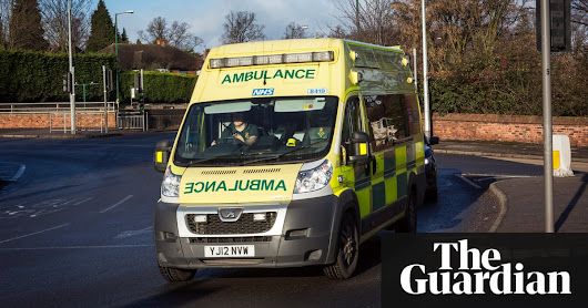 I've seen terrible things as a paramedic. The worst isn't what you'd expect | Healthcare Professionals Network | The Guardian