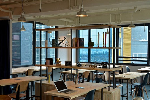 The Hive : co-working space in Hong Kong