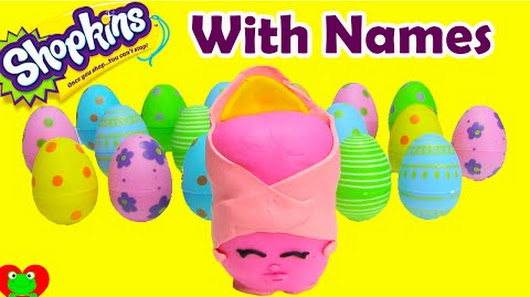 Shopkins Season 2 Challenge With Names Play Doh Surprise Danni Danish