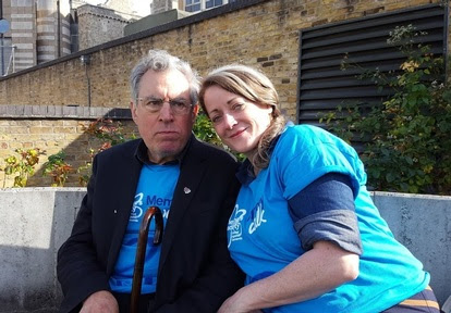 Monty Python star takes part in 'dementia walk' one year on from diagnosis