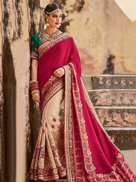 Indian Wedding Saree Latest Designs & Trends 2018 2019