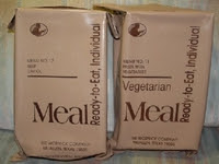 Meal, Ready to Eat, Individual - MRE