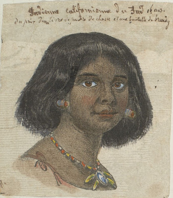 female native American head