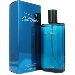 Cool Water by Davidoff Eau de Toilette Spray for Men - 4.2 fl oz bottle