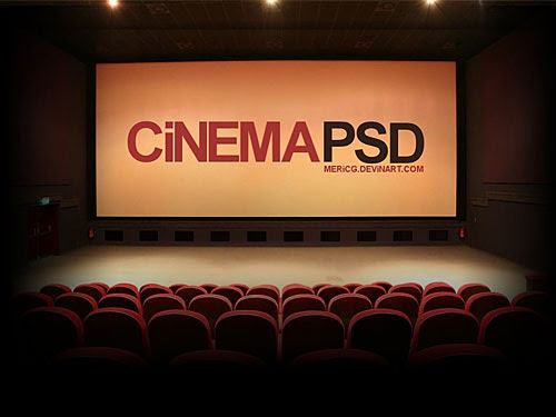 Cinema PSD Download - Download PSD