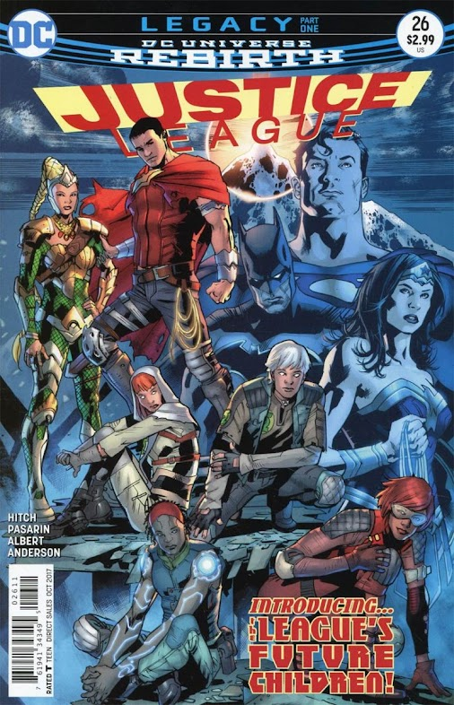 """So many questions in our #review of """"Justice League #26"""""""