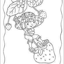 Dibujos Para Colorear Las Fresas De Tarta De Fresa Eshellokidscom