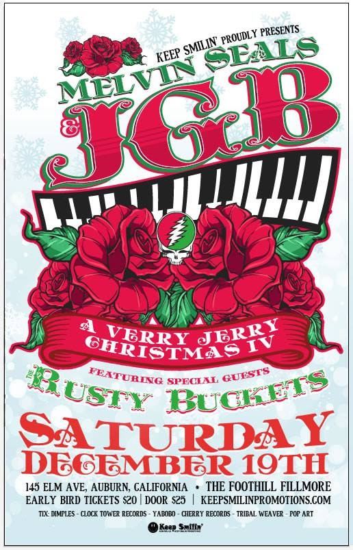 Very Jerry Christmas IV | Melvin Seals and JGB