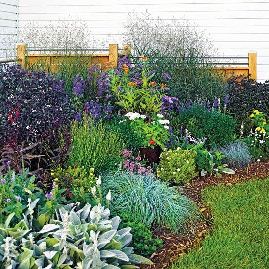 Corner Flower Garden Ideas