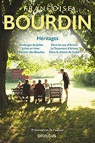 Héritages par Françoise Bourdin