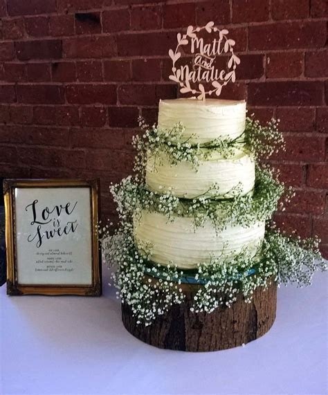 Buttercream Three Tier Wedding Cake By Gardner Cakes
