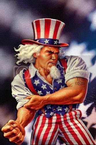A STRONG UNCLE SAM IS GOOD FOR THE WORLD!
