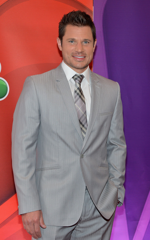 Nick Lachey - Red Carpet at the NBC Upfront Event in NYC