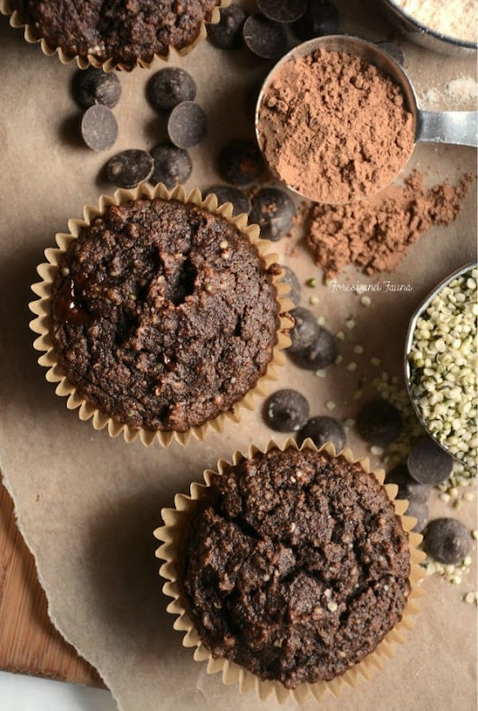 Paleo Chocolate Protein Muffins (Low-Carb Option)