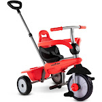 smarTrike Breeze 3 in 1 Baby Toddler Trike Tricycle for 15 to 36 Months, Red at VM Express