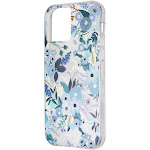 Rifle Paper CO. Protective Case for iPhone 12 mini (5G) - Garden Party Blue