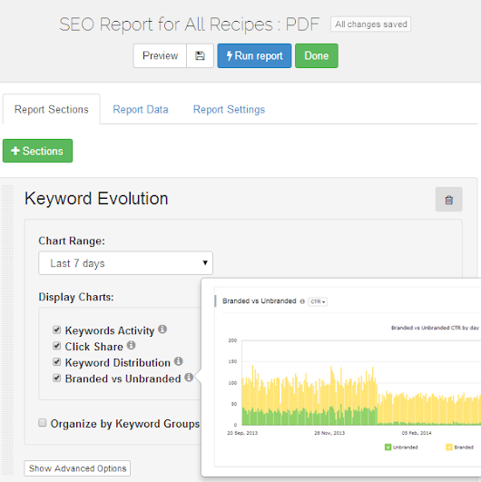 Turn basic SEO reports into exactly what you need - AWR