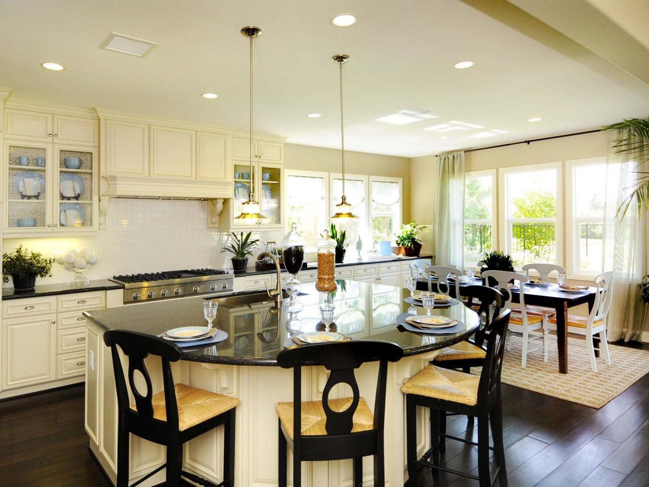 Kitchen Island Breakfast Bar: Pictures