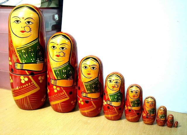 Indian nesting dolls