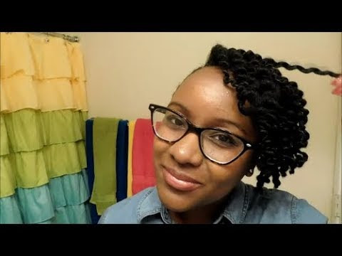 20 Minute Natural Hair Style!
