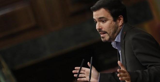 Alberto Garzón, hace unos días en el Congreso. EFE/Javier Lizón