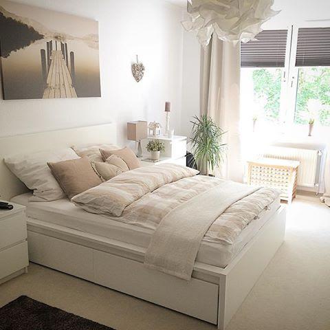 Schlafzimmer Weiß Beige Großartig On Auf Ikea Faszinierend ...