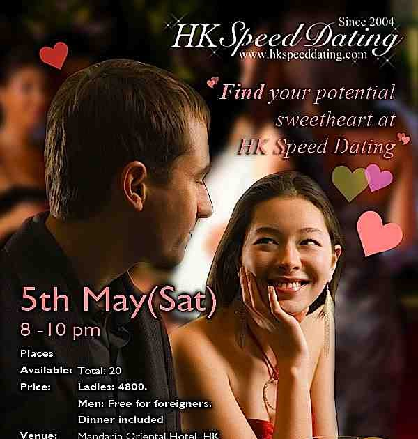 Hk speed dating foreigners