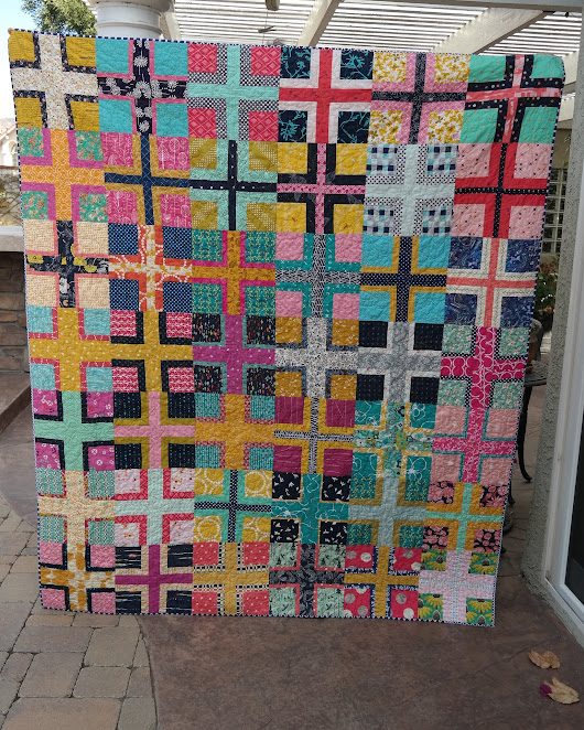 "random thoughts...do or ""di"": Crossing Paths Quilt"