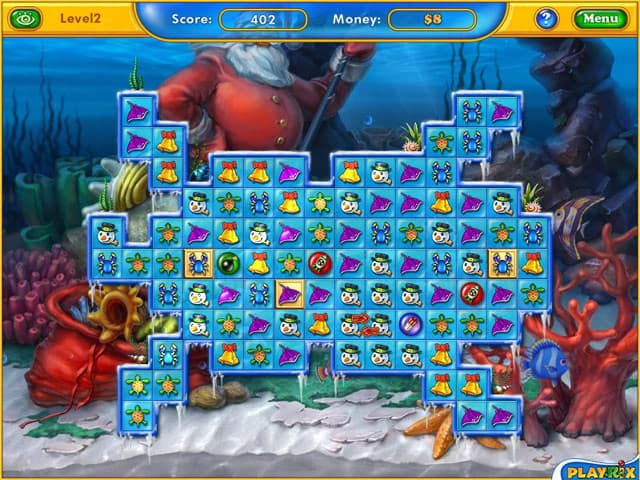Fishdom Frosty Splash Free PC Game Screenshot