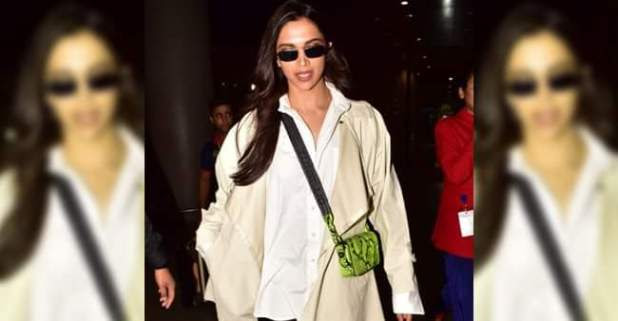 The airport look of Deepika Padukone isn't just beautiful and gorgeous but comfortable and practical too