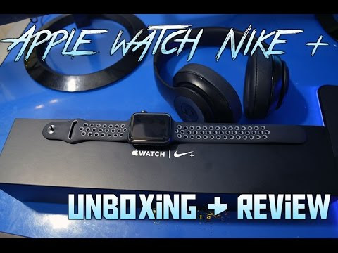 5b4c0b9d7862de VIDEO   apple watch nike + space gray with black cool gray nike sport band  unboxing   review - unboxing my newunboxing my newapple watch nikeedition!  other ...