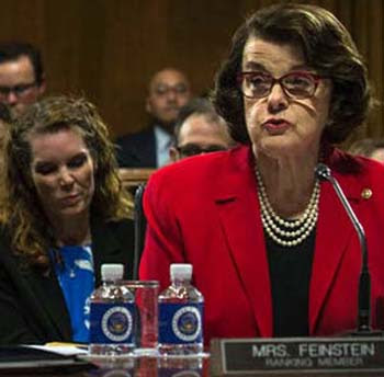 feinstein hearings