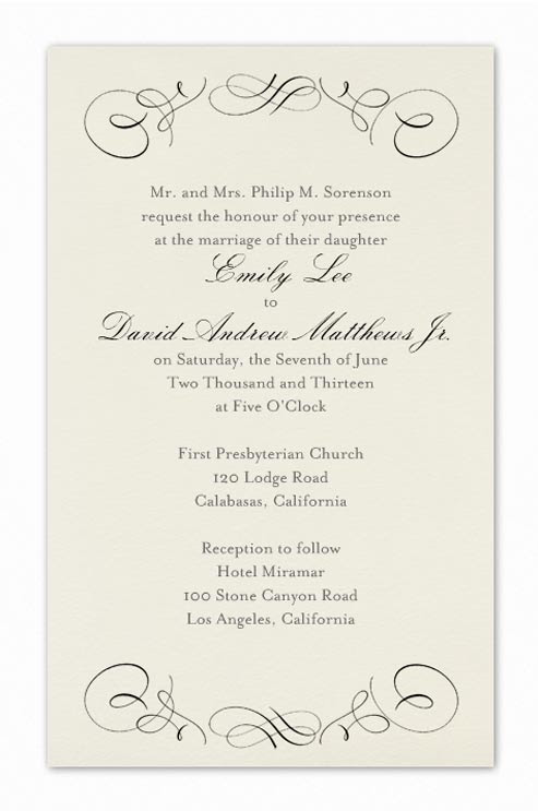25 Awesome Formal Event Invitation Wording