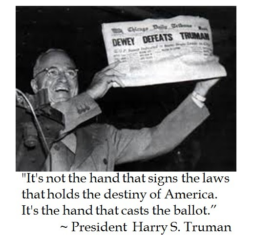 Harry S Truman Quotes: The District Of Calamity: President Harry S. Truman On The