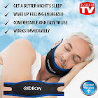 Gideon Comfortable and Adjustable Anti-Snoring Chin Strap Instant Stop Snoring Solution - Natural Snore Relief - Simple and Fast [Upgraded Version]