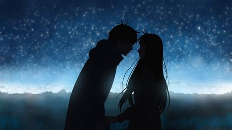 cute anime couple wallpaper  images