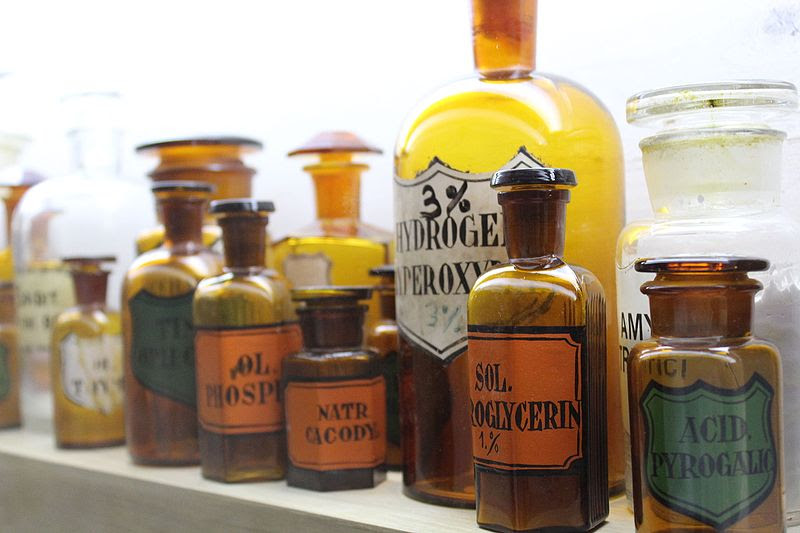 File:Medicine Bottles IMG 9734.JPG
