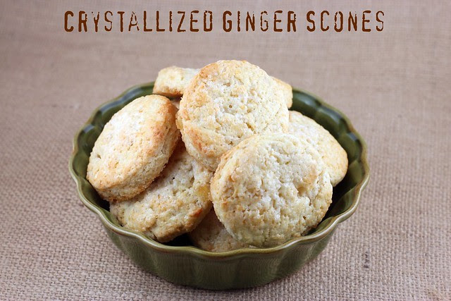 Crystallized Ginger Scones - Williams Sonoma