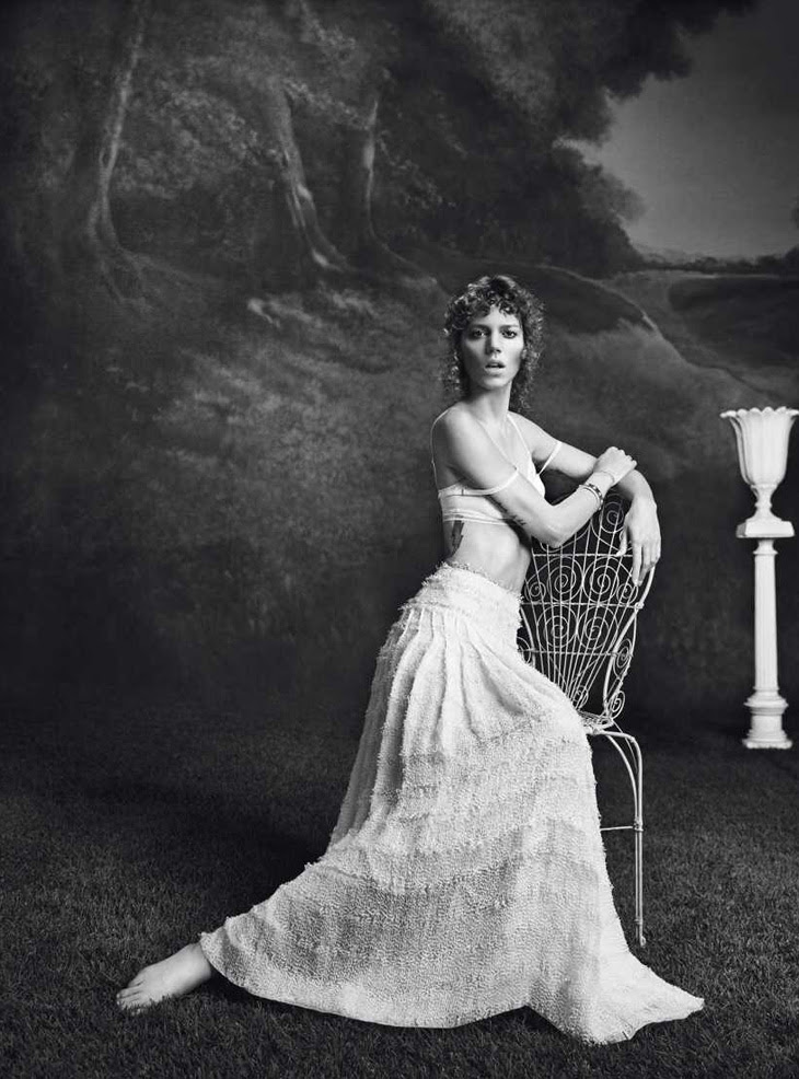 Freja Beha Erichsen for Vogue Paris February 2014