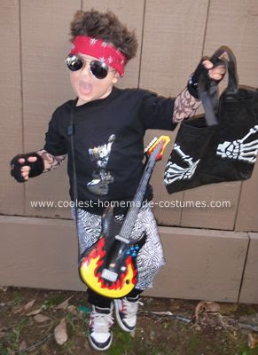 Boy Rock Star Costume Homemade Tommy Lee Costume Popular Celebrity