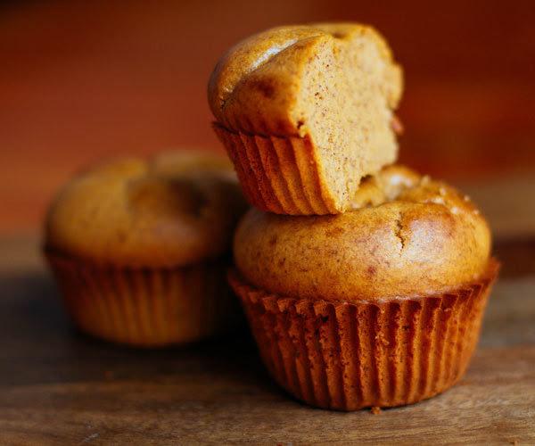 Healthy protein pumpkin muffins recipe