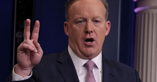 Sean Spicer's WHOIS data is public for everyone to see