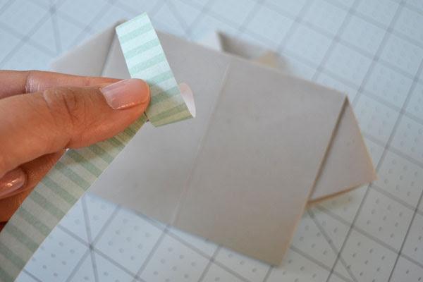 Dia dos Pais cartão shirt: papel Loop para fazer um laço