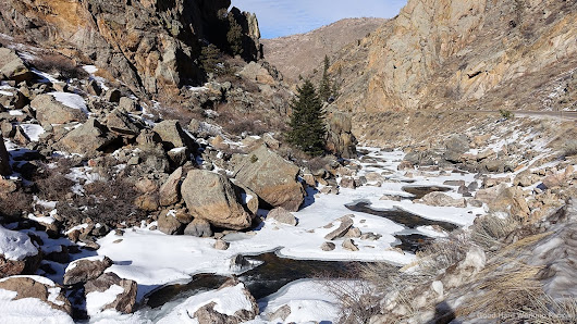 Frozen River (Cache La Poudre River) – In A Colorado Minute (Week 304) | Luci Westphal on Patreon