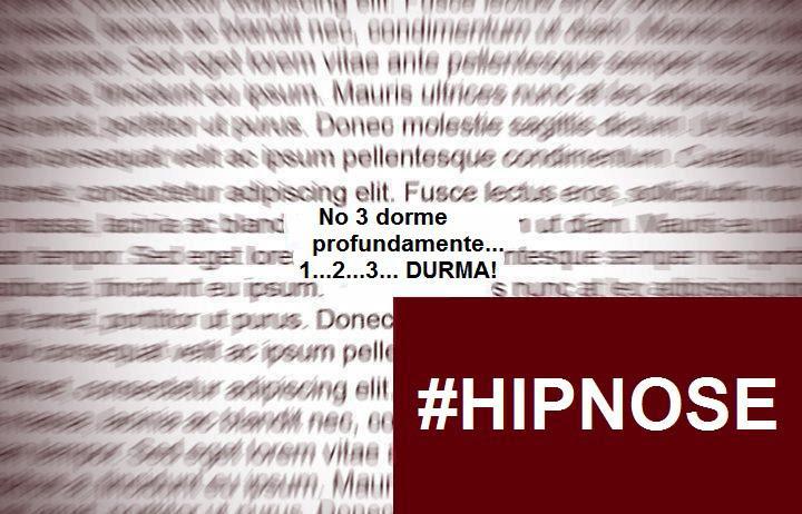 IMAGEM: Hashtag Hipnose