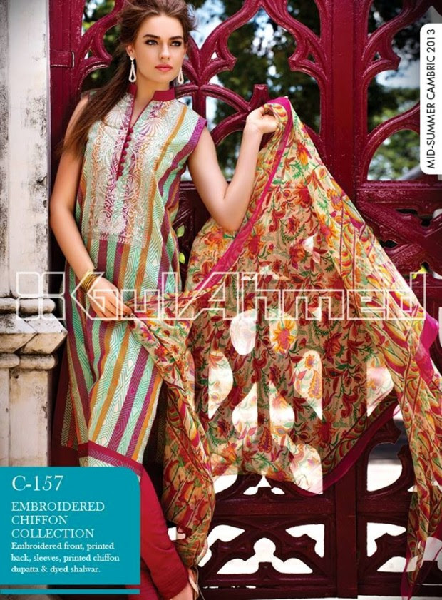 Mid-Summer-Cambric-Collection-2013-Gul-Ahmed-Printed-Embroidered-Fashionable-Dress-for-Girls-Women-15