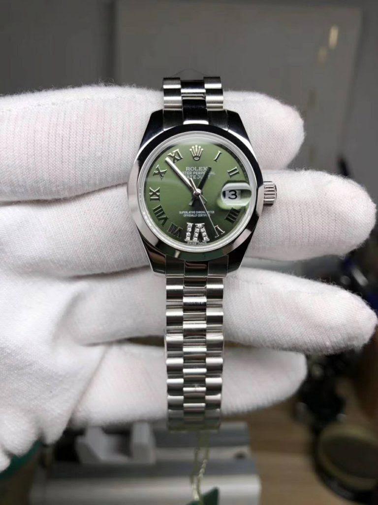 Replica Rolex Datejust 28mm Green